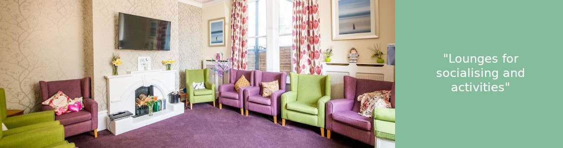 Care home lounges