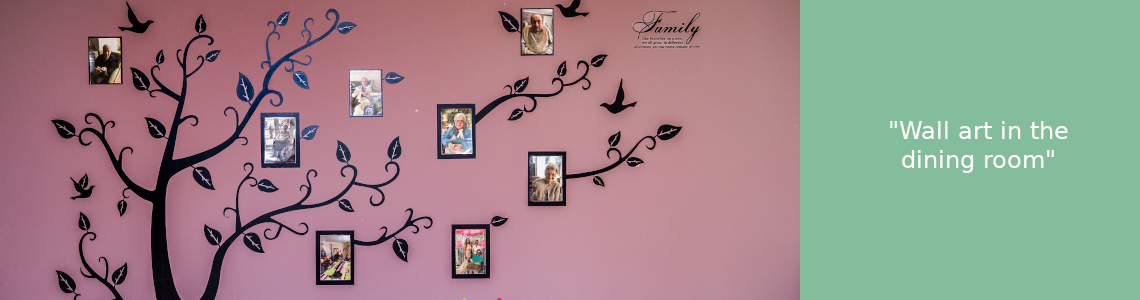 Care home wall art